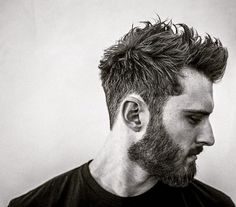 Hairstyles with beard Top 15 Hairstyles For Men With Beards in 2019 Penteados Para Homens Com Barba Em 2019 Mens Hairstyles With Beard, Haircuts For Curly Hair, Haircut For Thick Hair, Hair And Beard Styles, Haircuts For Men, Hair Styles, Thin Hair, Straight Hair, Short Hair For Men