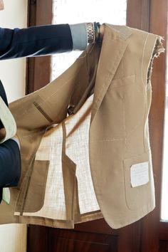 Unlined bespoke summer jacket Zaremba bespoke