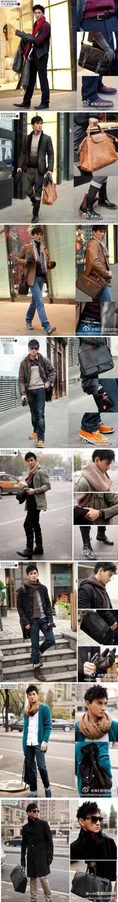 Nicky Wu street shoot.