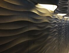 Quadro curve luce panels by Raffaello Galiotto for Lithos Design wall panel wall lamp