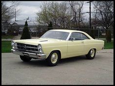 1966 Ford Fairlane GTA  390/335 HP, Automatic - mine had a black vinyl top and air conditioning!