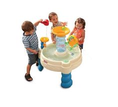 Kids Water Table Fun Waterpark Outdoor Active Play Toy Toddler Child Summer 2017 #LittleTikes