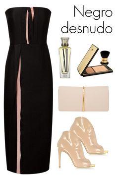 """""""Negro desnudo"""" by besado-por-el-sol on Polyvore featuring moda, Loriblu, Roksanda, Nina Ricci, Cartier y Sisley Paris"""