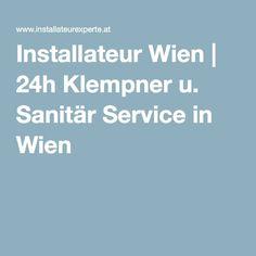 Installateur Wien   24h Klempner u. Sanitär Service in Wien