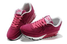 woowoo. pink one , you will like it. if yo want  to buy. come on., Barato Nike Air Max 90 Mujeres VT Cuero Negro Zapatillas