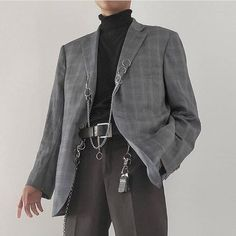 What's your favorite fall staple looks? Personally mines is a good blazer over a baggy polar neck! Indie Outfits, Grunge Outfits, Edgy Outfits, Fashion Outfits, Fashion Advice, Fashion Styles, Streetwear Mode, Streetwear Fashion, Aesthetic Fashion