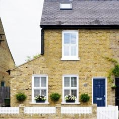pretend you're airbnb-ing here this weekend: This Victorian end-of-terrace house in Surrey has been renovated to include a new single-storey side extension, two-storey rear extension, plus the addition of a loft conversion.While the owners wanted to make their mark on the interior of the house, it was important that the cottage-style frontage be retained so that it looked in-keeping with the neighbouring properties.