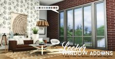 Looker Window Addons at Simsational Designs • Sims 4 Updates