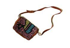 vintage purse handbag 1990's mola print by diaphanousvintage