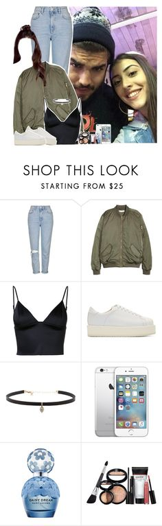 """""""Night out in São Paulo with Caio and Maju"""" by fxrever-isnt-for-everyone ❤ liked on Polyvore featuring GET LOST, Topshop, T By Alexander Wang, SILENT by Damir Doma, Carbon & Hyde, AT&T, Marc Jacobs, Laura Geller, love and Brazilian"""