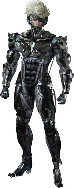 Raiden Sixth Scale Figure by Hot Toys http://www.sideshowtoy.com/collectibles/metal-gear-raiden-hot-toys-902184/