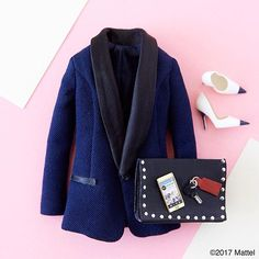 Style tip: a great blazer will sharpen any look. ✔️ #barbie #barbiestyle