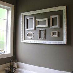 Decorating with frames