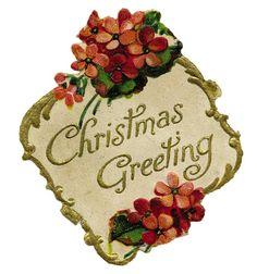 vintage christmas clip art | Thursday, December 30, 2010