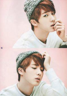 JIN- AJ X THE STAR vol.1  (his lips make me so nervous, really)
