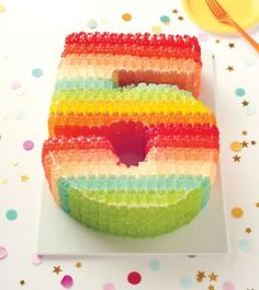 Gummy Bear cake-- yes please! -- Oh Happy Day