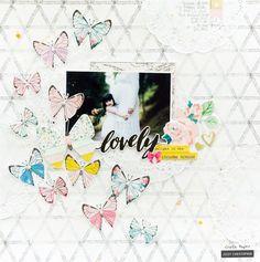 Lovely Layout by Jessy | Crate Paper | Bloglovin'