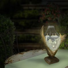 Wurzelholz-Skulptur / Root-Sculpture / Wohnaccessoires Home Decor Inspiration, Vase, Walnut Burl, Home Decor Accessories, Sculptures, Homes, Jars, Vases, Flowers Vase