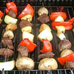 Teriyaki Steak and Chicken Kabobs - Honey Teriyaki Marinade Steak and Chicken Kabob Recipe - Kaboose.com