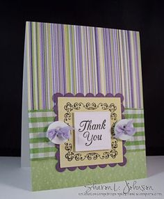 Card Making Kit, Sharon Johnson!