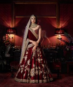 Our Editor curates the most stunning Sabya lehengas & anarkalis for this year.