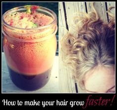 How To Hair - DIY Hair Resource From How To Hair Girl | My recipe for faster growing hair!