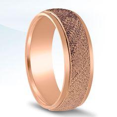 Men's Carved Wedding Band - N16562