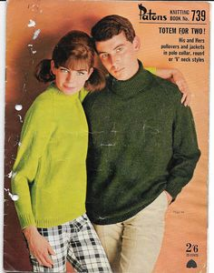 Vintage knitting pattern book | late 60's| Patons brand | Australian