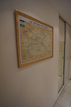 Valmy apartment Metro maps