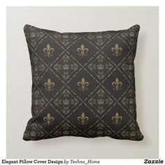 Rest your head on one of Zazzle's Home Decor decorative & custom throw pillows. Add comfort and transform any couch, bed or chair into the perfect space! Pillow Cover Design, Pillow Covers, Decorative Throw Pillows, Elegant, Home Decor, Classy, Pillow Case Dresses, Accent Pillows, Decoration Home