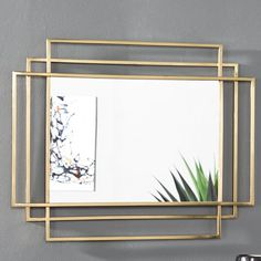 Heredia Modern and Contemporary Accent Mirror – Spiegel Art Deco Spiegel, Spiegel Design, Mirror Decor Living Room, Room Decor, Interior Modern, Modern Decor, Art Deco Mirror, Wall Mirror Ideas, Diy Mirror Decor