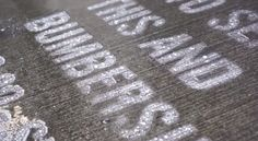 Using stencils and a superhydrophobic, industrial strength waterproofing paint called NeverWet, advertising agency Publicis sprayed messages advertising Bumbleshoot – Seattle's 2014 International Music Concert – onto sidewalks around the city. When dry, the NeverWet painted messages are practically invisible. But when it rains, which in Seattle is of course often, messages advertising the festival appear throughout the city.