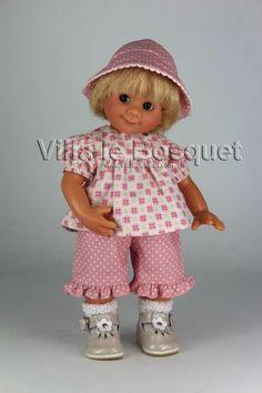 POUPEE ORIGINAL MÜLLER-WICHTEL WINNIE - poupée de collection de Rosemarie Müller