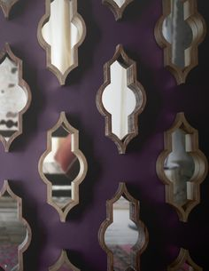 Tamanar II Mirrors | www.celadonathome.com
