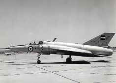 Egyptian HA-300 side-view. This was a delta-wing light, supersonic fighter (co-development of the HF-24 Marut) which was abandoned after 7 aircraft