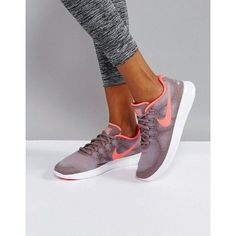 Nike Running Free Run 2017 Sneakers (€110) ❤ liked on Polyvore featuring shoes, sneakers, grey, nike sneakers, textile shoes, nike footwear, laced shoes and laced sneakers