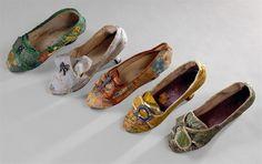 Shoes, c.1770s, Portugal, Museu Nacional do Traje
