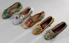 Shoes, c.1770s, Portugal, Museu Nacional do Traje