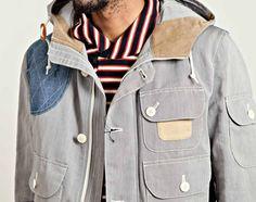 Junya Watanabe COMME des GARÇONS MAN – Blue Striped Jacket