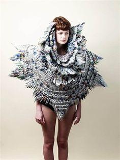 a magazine dress