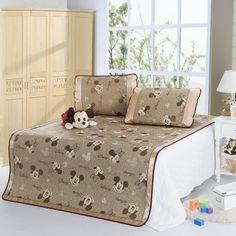 Mickey And Minnie Coffee Disney Summer Sleeping Mat Set Disney Bedding, Bedding Sets, Comforters, Sleep, Blanket, Coffee, Table, Summer, Furniture