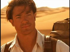 Brendan Fraser in the mummy is my idea of the perfect man! Mummy Movie, I Movie, Brendan Fraser The Mummy, George Of The Jungle, Gorgeous Men, Beautiful People, Beautiful Lips, Good Looking Men, Man Crush