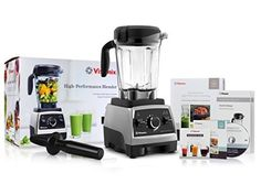 The sleek silhouette and low-profile 64-ounce container fit easily below most overhead cabinets, while five program settings offer convenience for Vitamix's most popular blends. The Vitamix 750 combines blazing-fast, powerful performance with the ease of analog controls. Enjoy... - http://kitchen-dining.bestselleroutlet.net/product-review-for-vitamix-750-heritage-g-series-blender-with-64-ounce-container-introduction-to-high-performance-blending-recipe-cookbook-getting-s