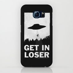 iPhone & iPod Case featuring Get In Loser by Moop