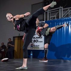 ~ Shellie Blanks-Cimarosti and Team Tae Bo, Franklin, TN shown here in a kicking stance.  This is a basic kick taught in martial arts. ~