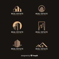 Modern real estate logo collectio