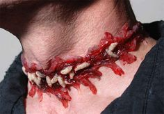 Incorporate maggots into your end look. | 27 Disgustingly Awesome Ways To Take Halloween To The Next Level
