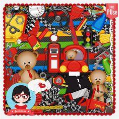 Kit - Papai Urso by Fa Maura [FaMaura_KitPapaiUrso] - $5.60 : FaMaura.com - scrapshop