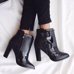 Moda a tus pies... Espectaculares botines con tacon