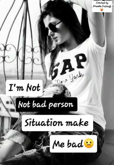 And also some person 😌 Attitude Status Girls, Attitude Thoughts, Attitude Shayari, Attitude Quotes For Girls, Crazy Girl Quotes, Funny Baby Quotes, Bff Quotes, Girly Quotes, True Quotes